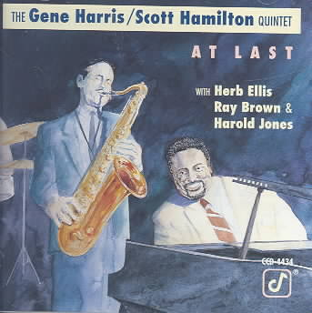 AT LAST BY HARRIS,G/HAMILTON, (CD)